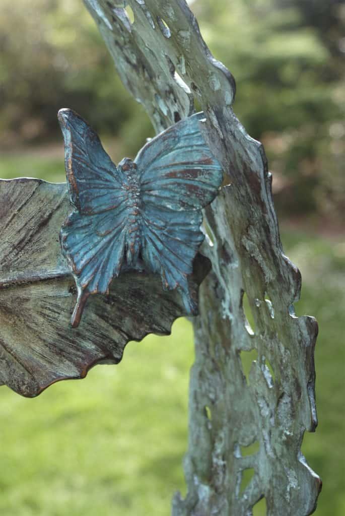 Butterfly in bronze
